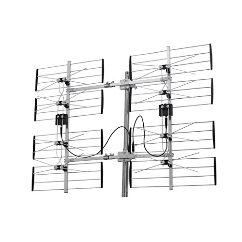 Ultra Clear Digital Outdoor TV Antenna UHF, HD, VHF Receiver