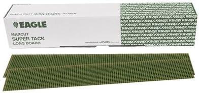 Maxcut SUPER-TACK File Sheets - Grit P80-50 shts//box 2 3//4 x 16 1//2 inch Eagle 749-0080
