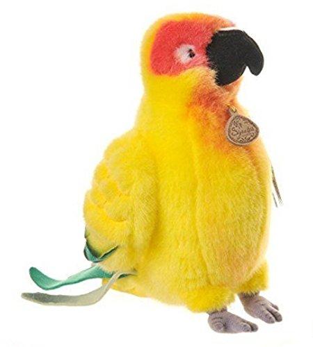 11インチ署名手作りConureオウム鳥ぬいぐるみ   B07BDPXH9W