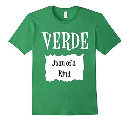 Mens Verde Green Sauce Packet Shirt - Halloween Costume T-Shirts Small (Coworker Halloween Costumes)