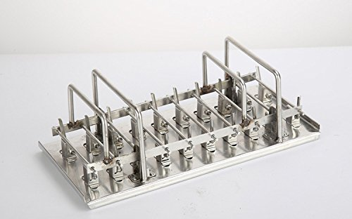 20pcs Stainless Steel Molds for Popsicles Maker Ice Lolly Ice Cream Pops Bars Stick Holder (D) by KikoPro (Image #4)