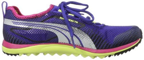 Puma Faas 100 Tr Wn's - Zapatos Mujer Varios colores (Mehrfarbig (spectrum blue-sunny lime 06))