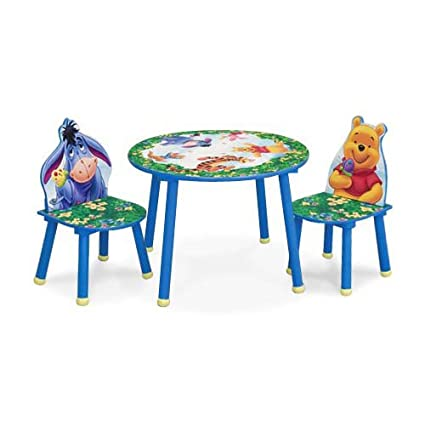 Winnie The Pooh Round Table u0026 Chairs  sc 1 st  Amazon.com & Amazon.com: Winnie The Pooh Round Table u0026 Chairs: Toys u0026 Games