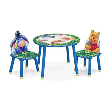 Winnie The Pooh Round Table U0026 Chairs