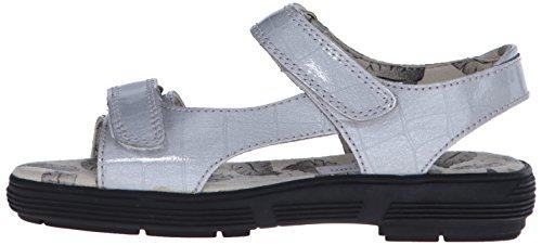 Golfstream Women's Two Strap Sandal Golf Shoe, Tuscany Faux Crocodile/Silver, 5 M US by Golfstream (Image #5)