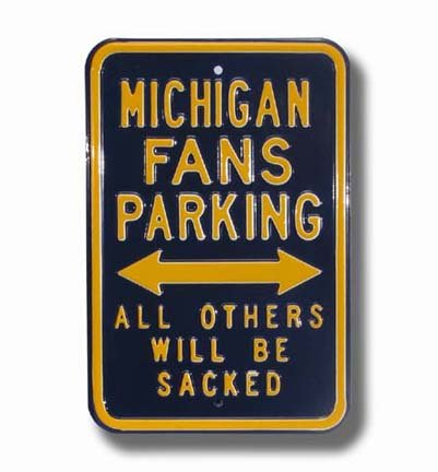 - Steel Parking Sign: