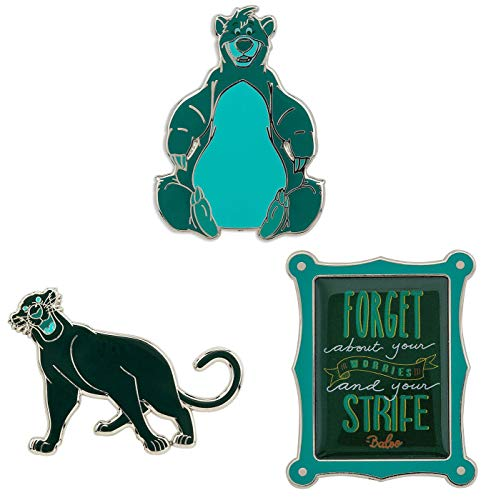 Disney Wisdom Pin Set - The Jungle Book - March - Limited -