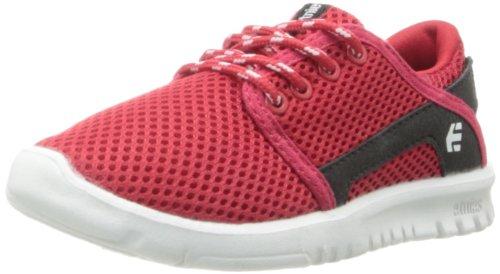 Etnies Scout Lace-Up Sneaker (Toddler/Little Kid/Big Kid),Red/Black,6 C US Big Kid