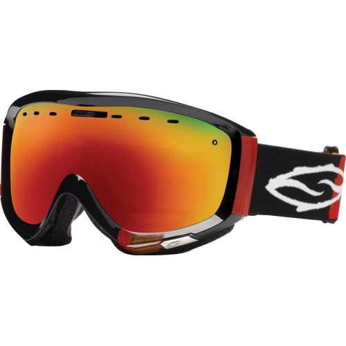 Smith Optics Prophecy Rust Kilgore Regulator Series Winter Sport Racing Snowmobile Goggles Eyewear - Red SOL-X Mirror / Medium/Large by Smith Optics