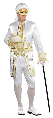 Amscan International Adults Casanova Venetian Costume (Medium) by Amscan International - Venetian Casanova Costume