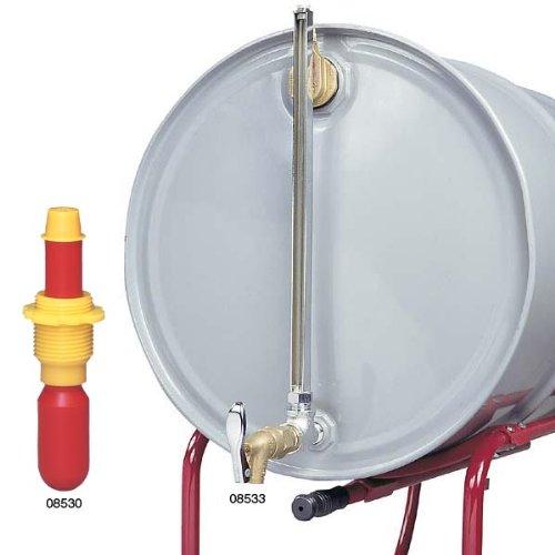Justrite 08533 Horizontal Drum Cast Iron Fill Gauge