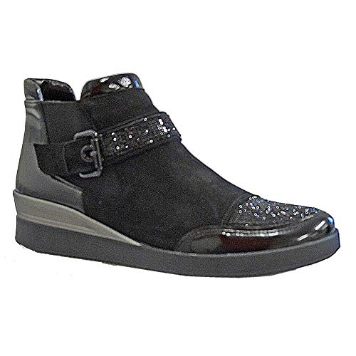 Black Boot Womens Ara 43330 Ara Jenny 6 Ankle nvRBwq1WC