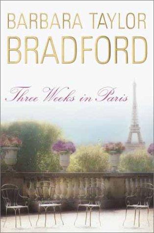 book cover of Three Weeks in Paris