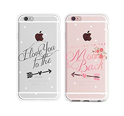 I Love You To The Moon And Back Quotes Star Galaxy Couples Matching