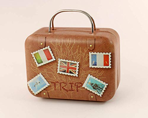nanguawu 1:6 Stamps Doll Dollhouse Miniature Toy Trunk Box Suitcase Luggage Traveling Case from nanguawu