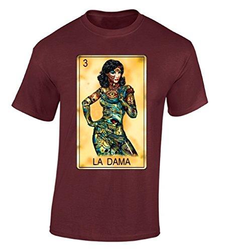 Raxo La Dama Loteria T-shirt Ethnic Latino Day Of Dead Mexican Bingo Gift Shirt