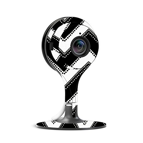 MightySkins Skin for Nest Cam Indoor Security Camera - Chevron Style | Protective, Durable, and Unique Vinyl Decal wrap Cover | Easy to Apply, Remove, and Change Styles | Made in The USA