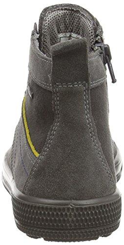 Superfit SWAGY - zapatillas deportivas altas de piel niños gris - gris (stone kombi 06)