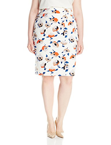 Nine-West-Womens-Plus-Size-Printed-Crepe-Skirt