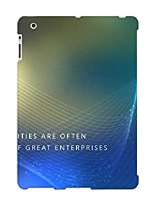 Hot Small Oportunities Are Often The Beginning Of Great Enterpri First Grade Tpu Phone Case For Ipad 2/3/4 Case Cover by lolosakes