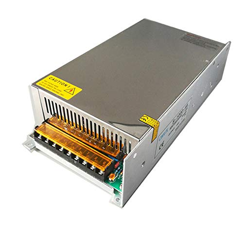 - 24V 40A 1000W Universal Regulated Switching Power Supply Driver for CCTV Camera LED Strip AC 100-240V Input to DC 24V