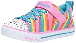 Sparkle Lite-Magical Rainbows Sneaker