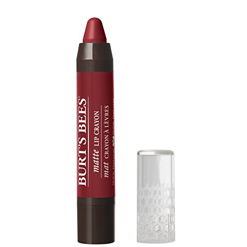 Burt's Bees 100% Natural Moisturizing Lip Crayon, Redwood Forest Matte, 1 Crayon