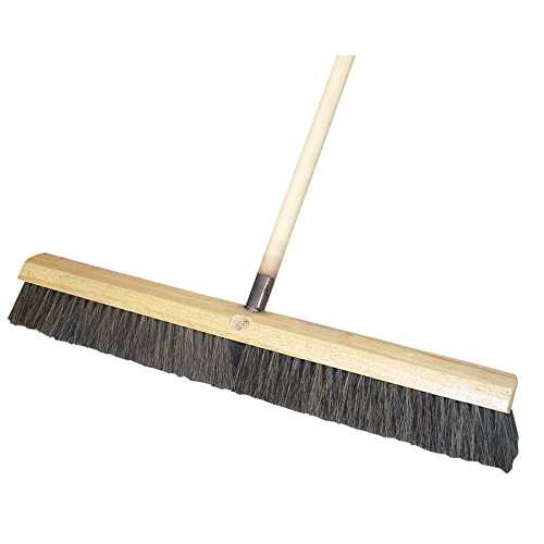 BONQG 22-289 Floor Broom - Horsehair Bristles
