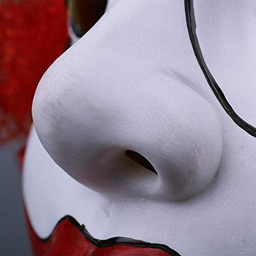 XWYZY Halloween masker Halloween Clown Masker Cosplay Grappige Joker met Hoed Maskers Helm Party Props Film