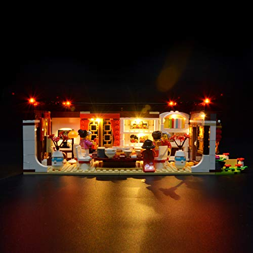 Briksmax Led Lighting Kit for Chinese New Year Dinner-Compatible with Lego 80101 Building Blocks Model- Not Include The Lego Set