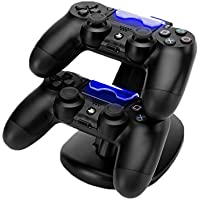 MOFIR PS4 Dual USB Controller Charging Dock Station (Black)
