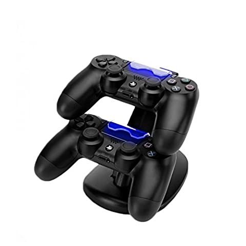 MOFIR PS4 Dual USB Controller Charging Dock Station with LED Indicator for Sony Playstation 4 (Ps4 Nyko Controller)
