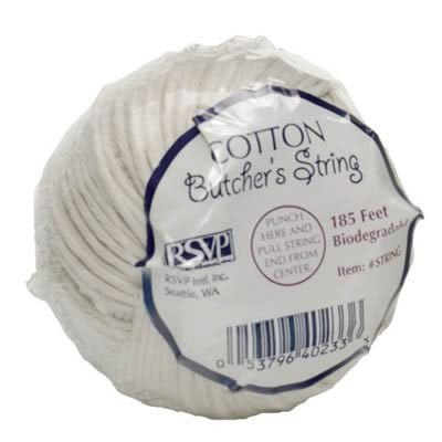 RSVP Cotton Food Safe Butcher's String, 185-feet, Made in USA