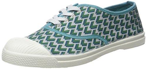 Bensimon Tennis Lacet Retro - Botas Mujer Vert (Vert)