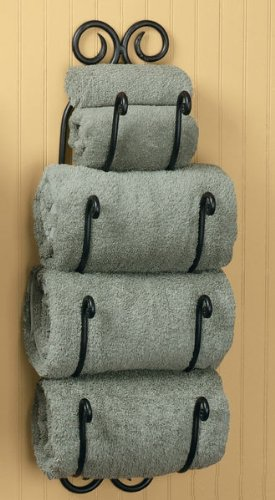 Park Designs Scroll Bath Towel Holder ()