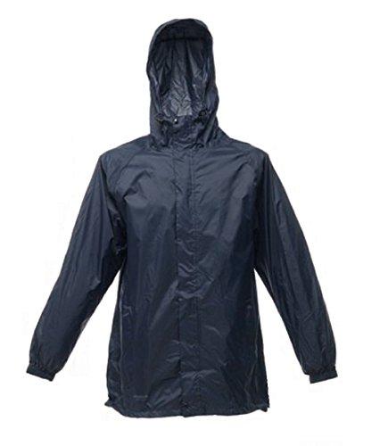 Regatta Packaway 2chaqueta impermeable para hombre azul marino