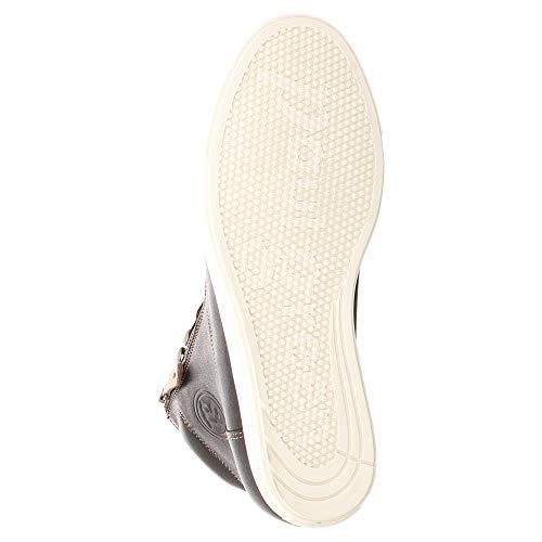 High Braun Green Sneaker Paul Cuoio Top Nero 5anpf