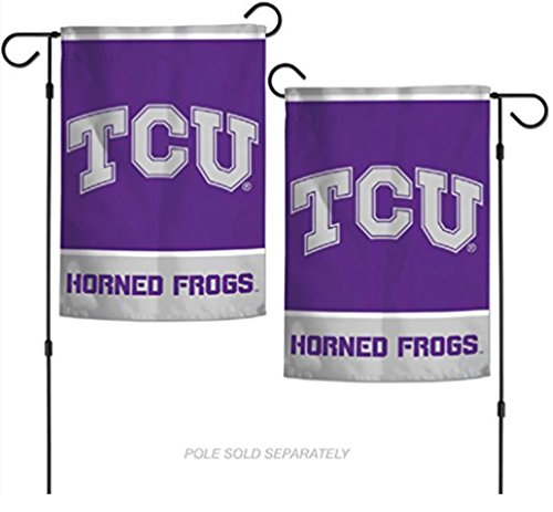 "WinCraft NCAA Texas Christian Horned Frogs TCU 12.5"" x 18"" I"