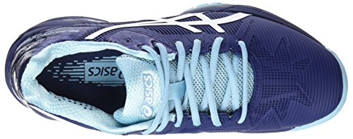 Blue 5 Blue Indigo Asics Gel Speed 4901 Blue 3 White Blue Shoes Solution Porcelain Tennis Women's T8801Sq6w