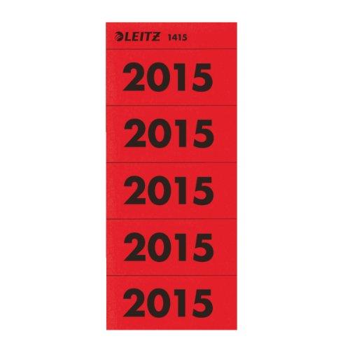 (100 x Esselte Leitz Contents Labels, Register red)