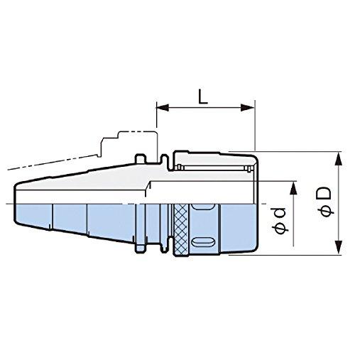 大昭和精機:クイック式ハイパワーミーリングチャック M35-HMC20S  B01L6AEWT2