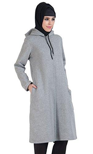 East Essence - Camisas - para mujer gris