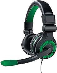Fone de Ouvido Headset Gamer GRX-340 Dreamgear DGXB1-6615 Preto e Verde