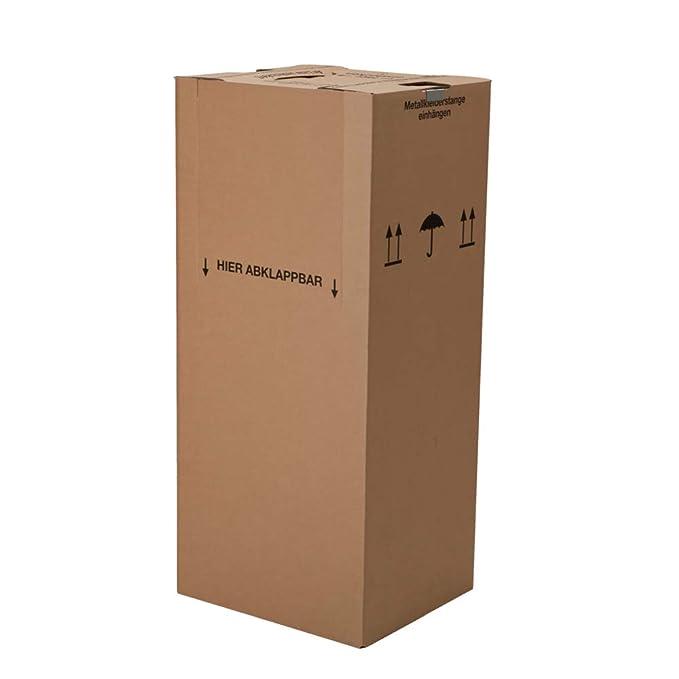 150 cajas de prendas de vestir, 1350 x 600 x 510 mm y ...