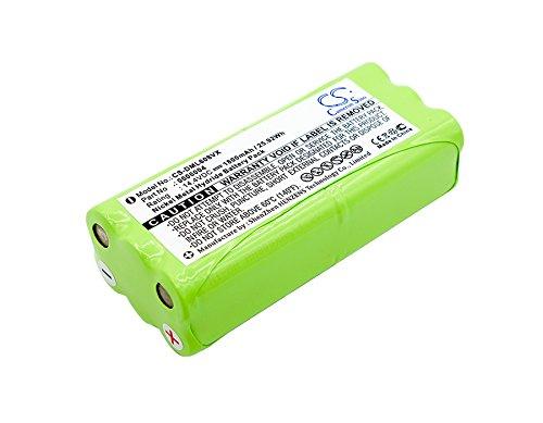 CS batería, Ni-MH 1800 mAh apta para DIRT DEVIL Libero M606 - 1 ...