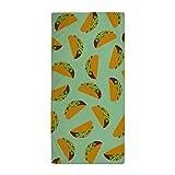 CafePress - Taco Pattern - Large Beach Towel, Soft 30''x60'' Towel with Unique Design