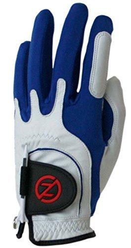 Zero Friction Mens Cabretta Premium Leather Golf Gloves, Universal Fit One Size