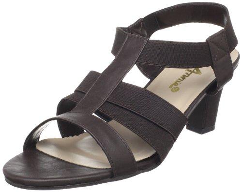 (Annie Shoes Women's Christa, Brown, 6 C US )