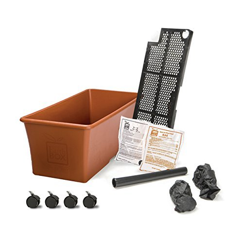 Gardening System - Earthbox Organic Terra Cotta Kit, Pack of 4 Planters