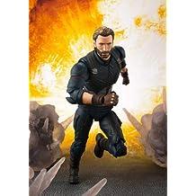 Tamashii Nations Bandai S.H. Figuarts Captain America & Tamashii Effect Explosion Avengers: Infinity War Action Figure